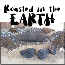 Roasted in Stone-lIned Earthen Ovens